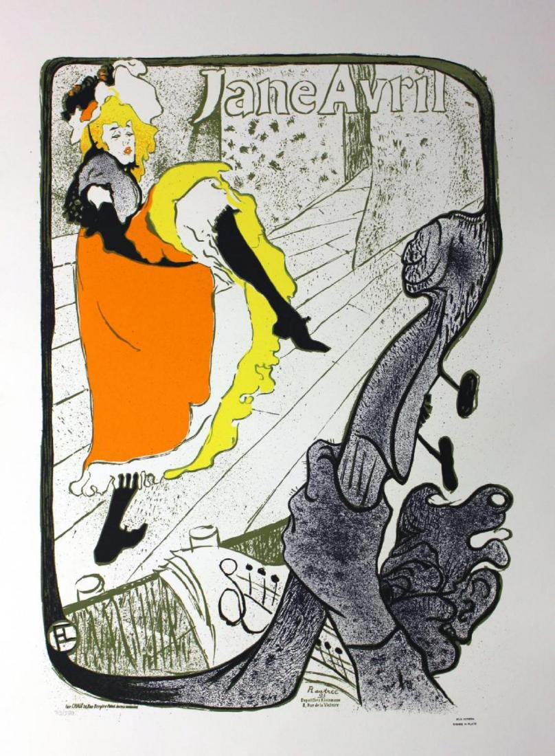 Toulouse lautrec Limited Edition lithograph