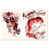 "Marc Chagall (1887-1985) - ""Lithographe III"" Original"