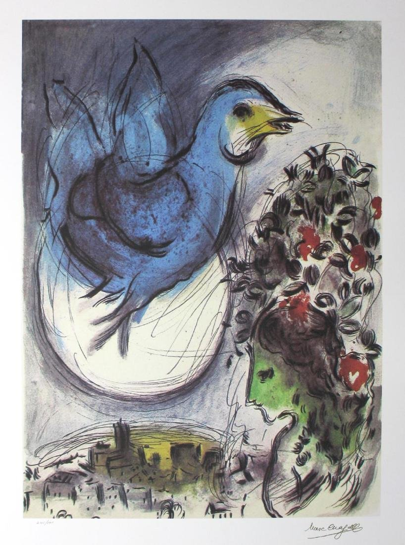 Marc Chagall Limited Edition Lithograph Signed &