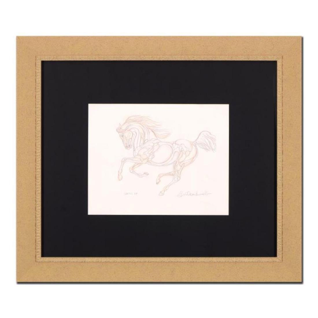 """Guillaume Azoulay - """"BF Sketch"""" Framed Original"""
