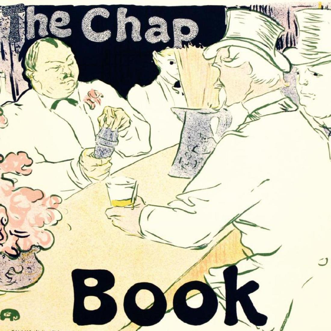 """""""The Chap Book"""" Hand Pulled Lithograph by the RE - 2"""
