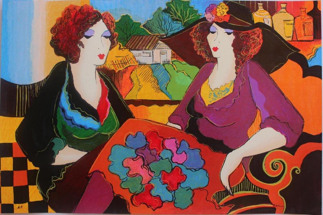 Patricia Govezensky Villa Saint Tropez XL Silk Screen