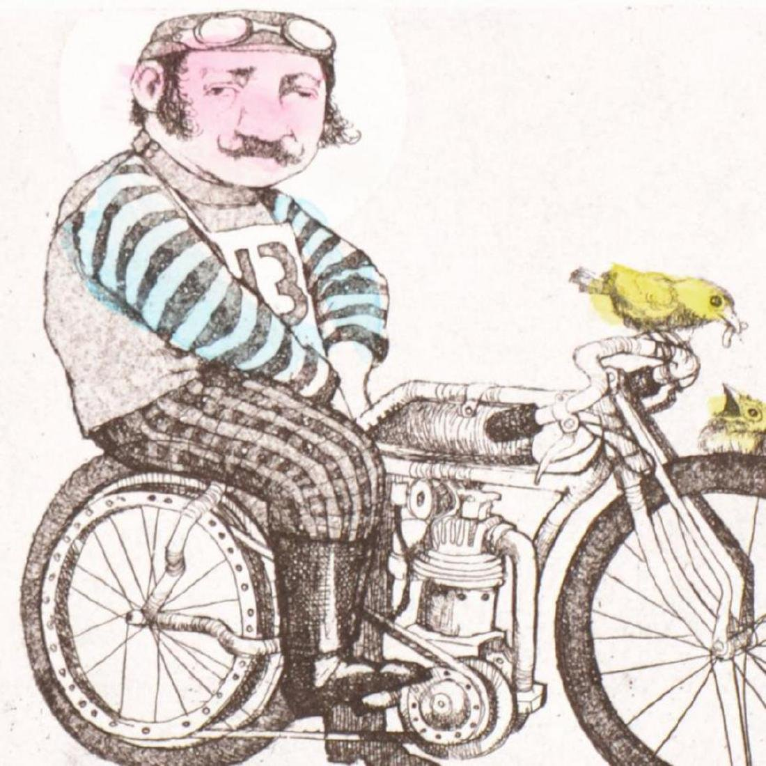 """Charles Bragg - """"Cyclist"""" One-of-a-Kind Hand - 2"""