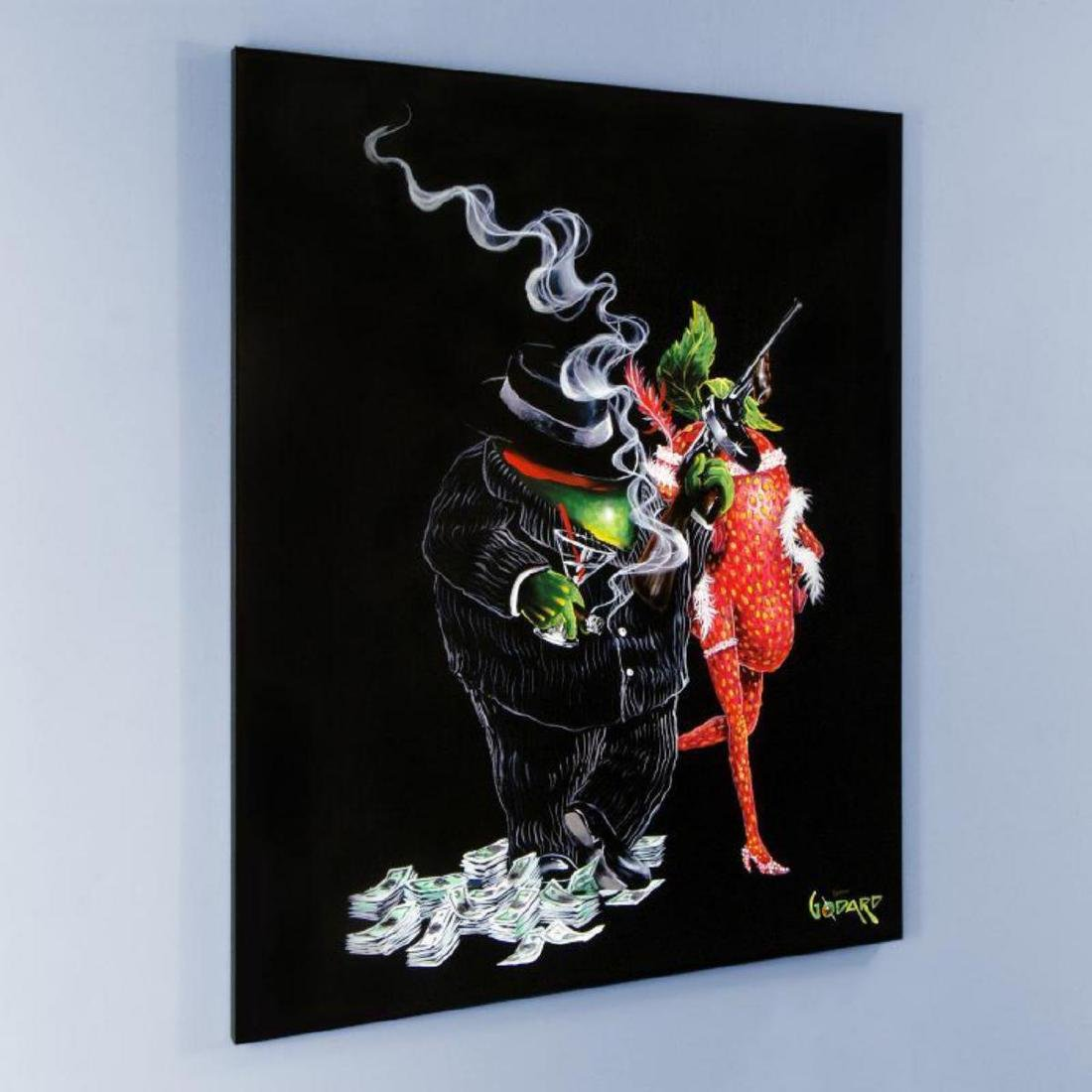 """Gangster Love"" Mural LIMITED EDITION Hand-Embellished - 3"