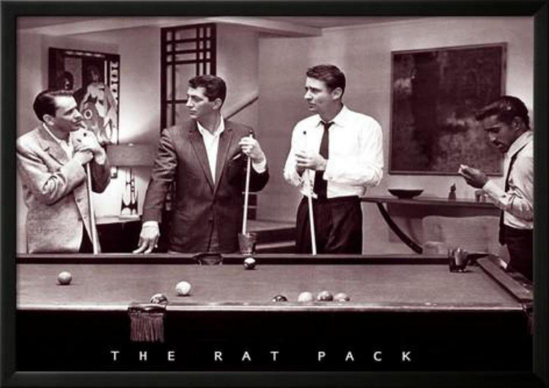The Rat Pack Custom Frame Poster