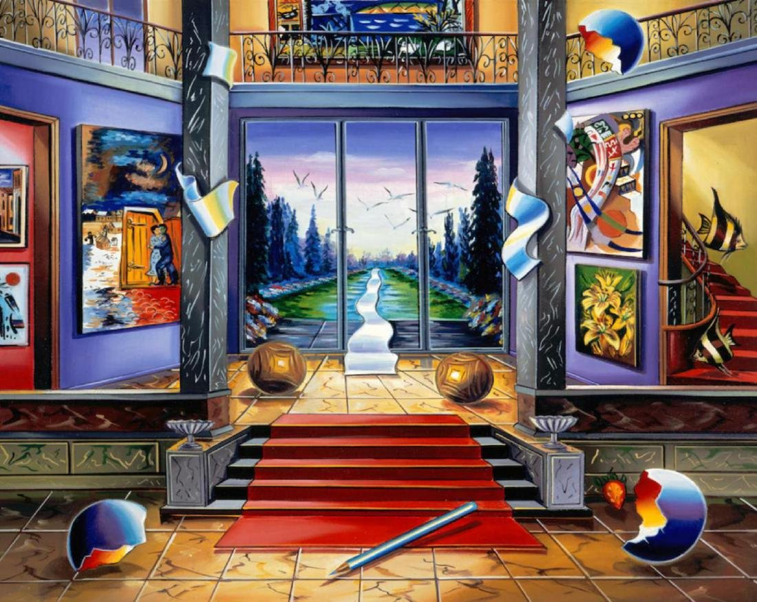 Alexander Astahov Sold Out Original Giclee on Canvas