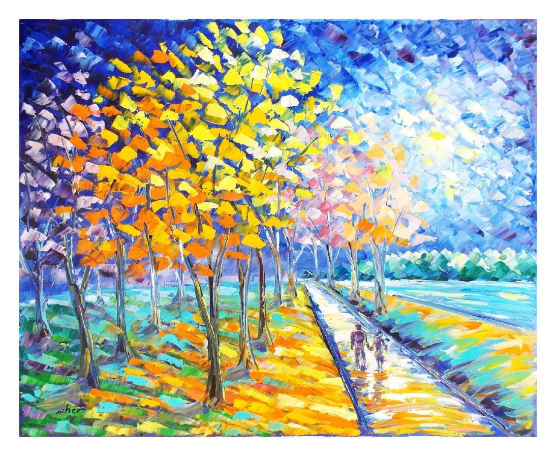 "Svyatoslav Shyrochuk- Original Oil on Canvas ""Mother"
