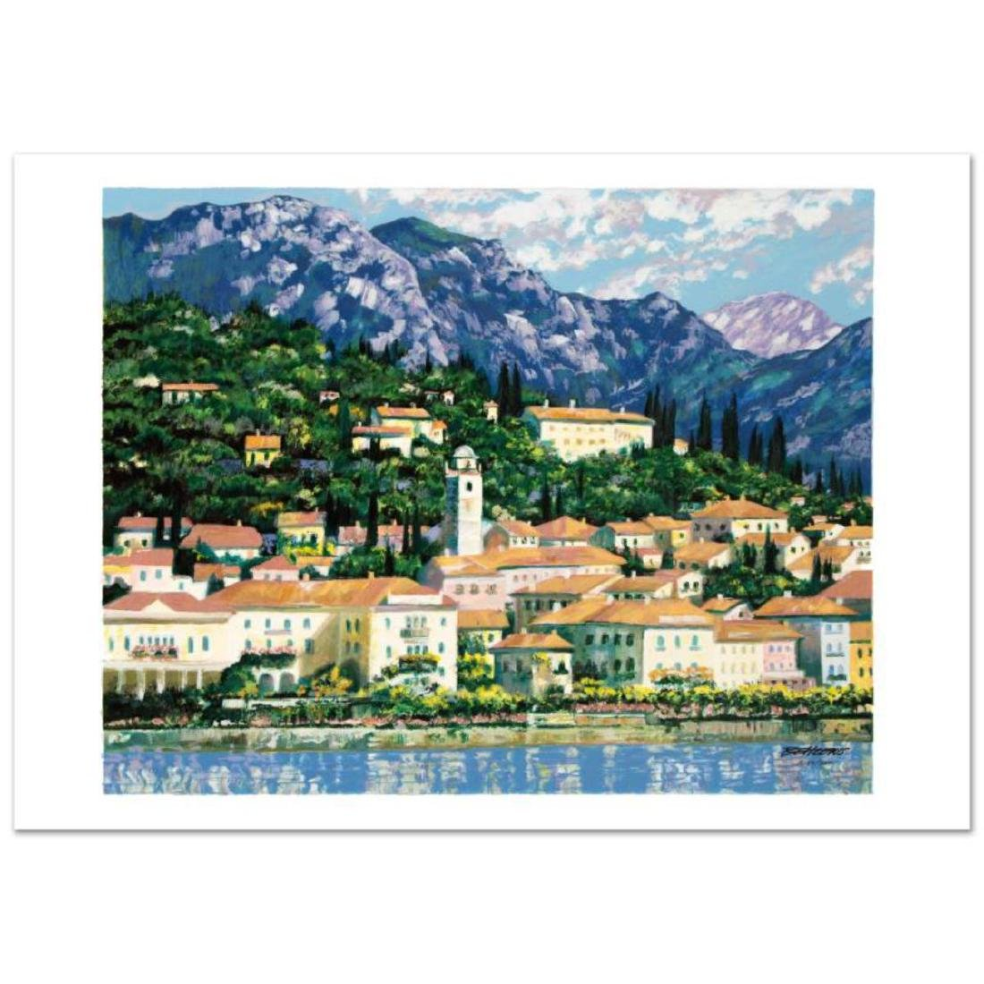"""Bellagio Hillside"" Limited Edition Serigraph by Howard"