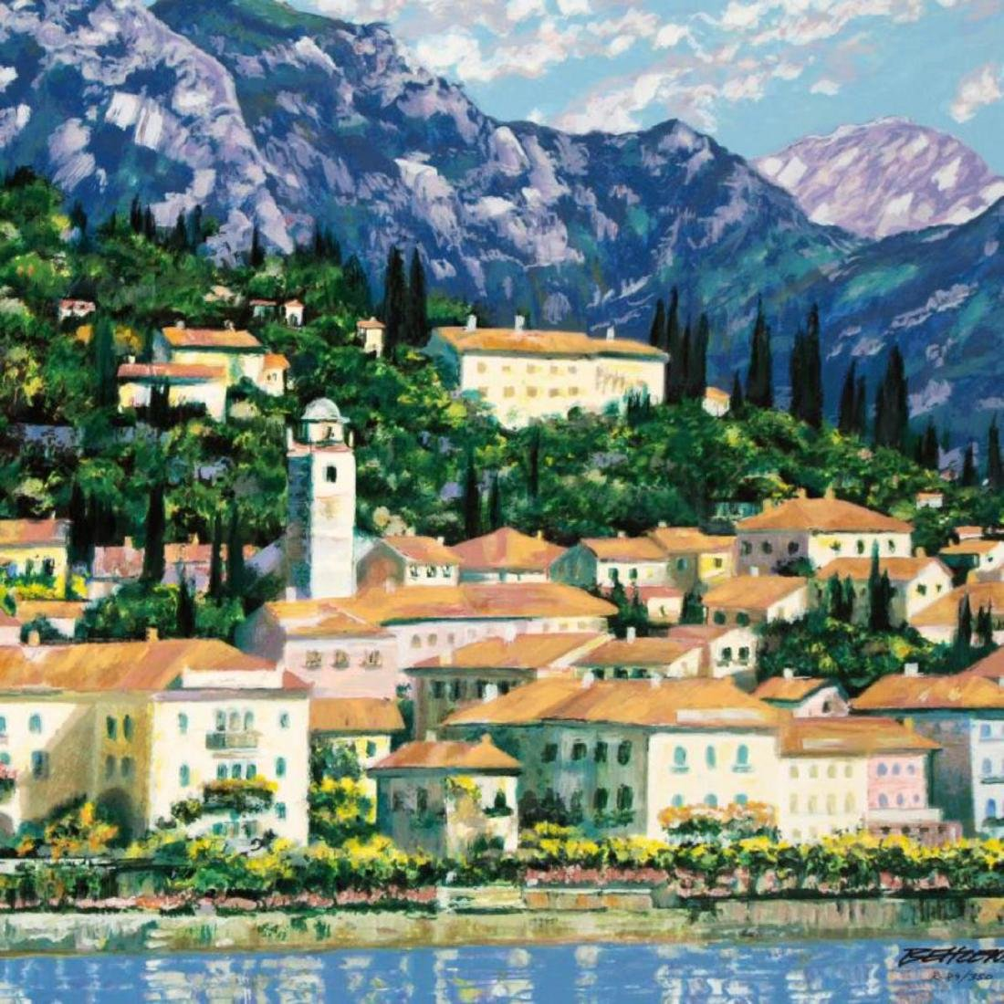 """Bellagio Hillside"" Limited Edition Serigraph by Howard - 2"