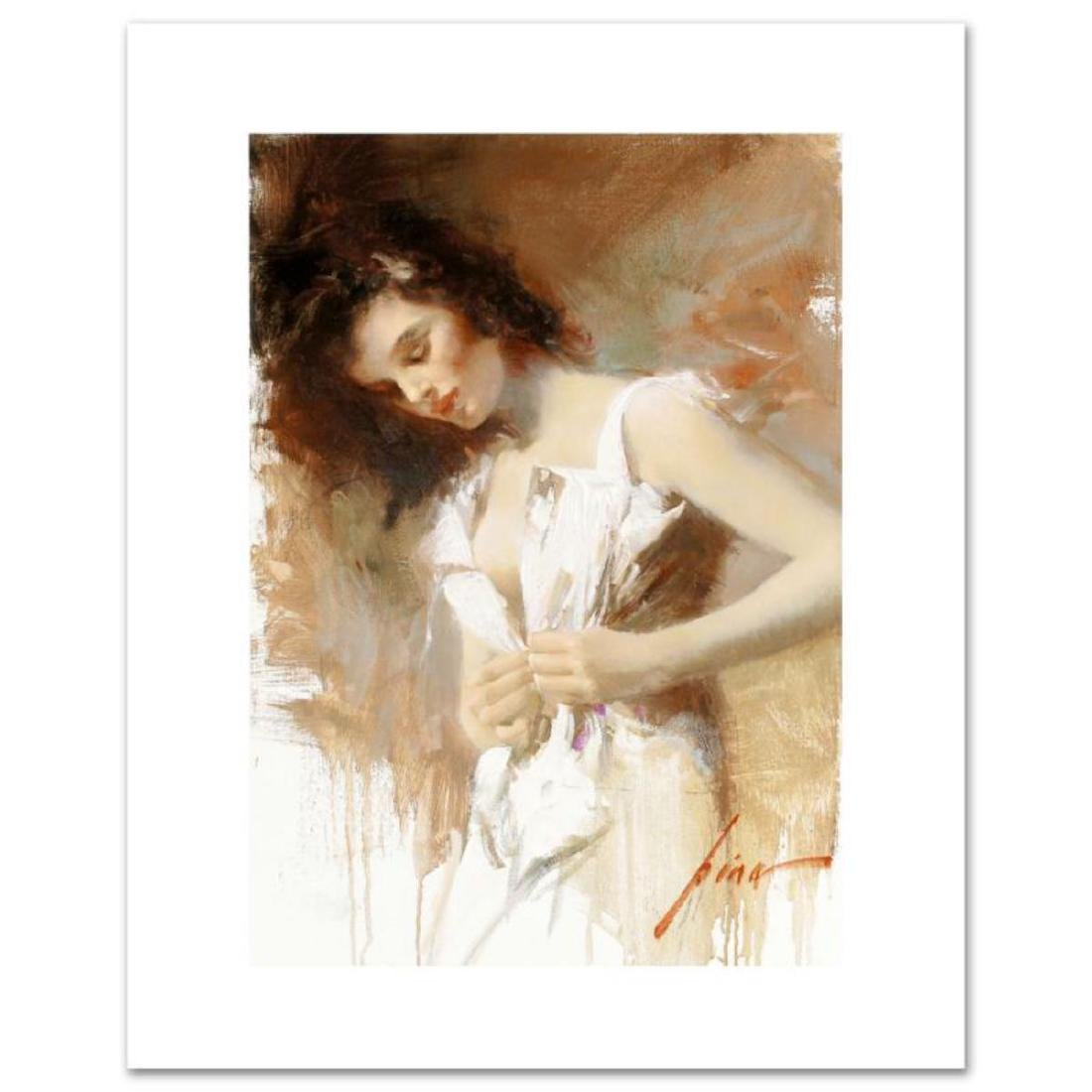 """""""White Camisole"""" LIMITED EDITION Artist-Embellished"""