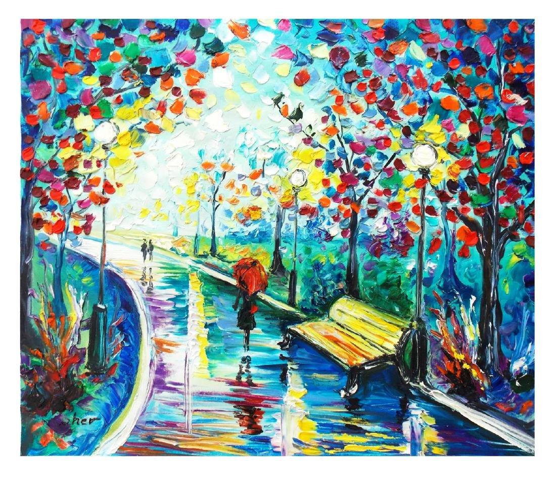 "Svyatoslav Shyrochuk- Original Oil on Canvas ""Gentle"