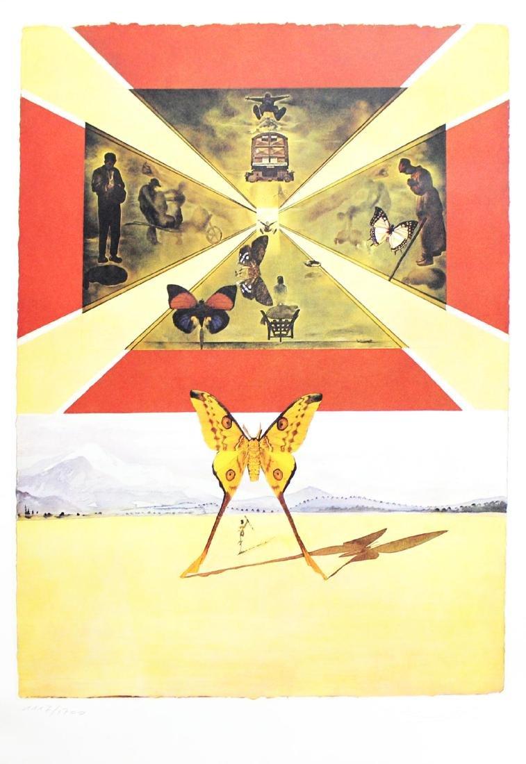 "Salvador Dali- Original Lithograph ""Roussillon"""