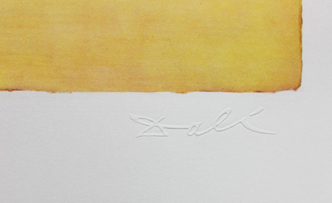 "Salvador Dali- Original Lithograph ""Roussillon"" - 2"