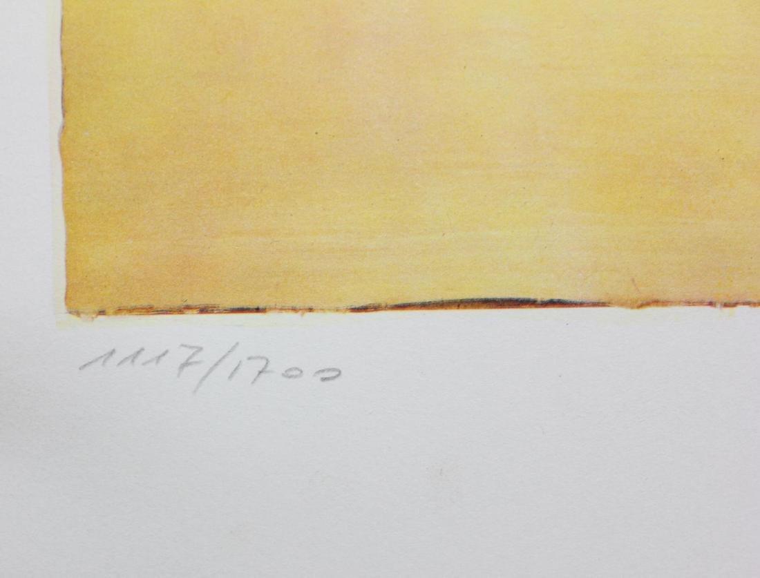 "Salvador Dali- Original Lithograph ""Roussillon"" - 3"