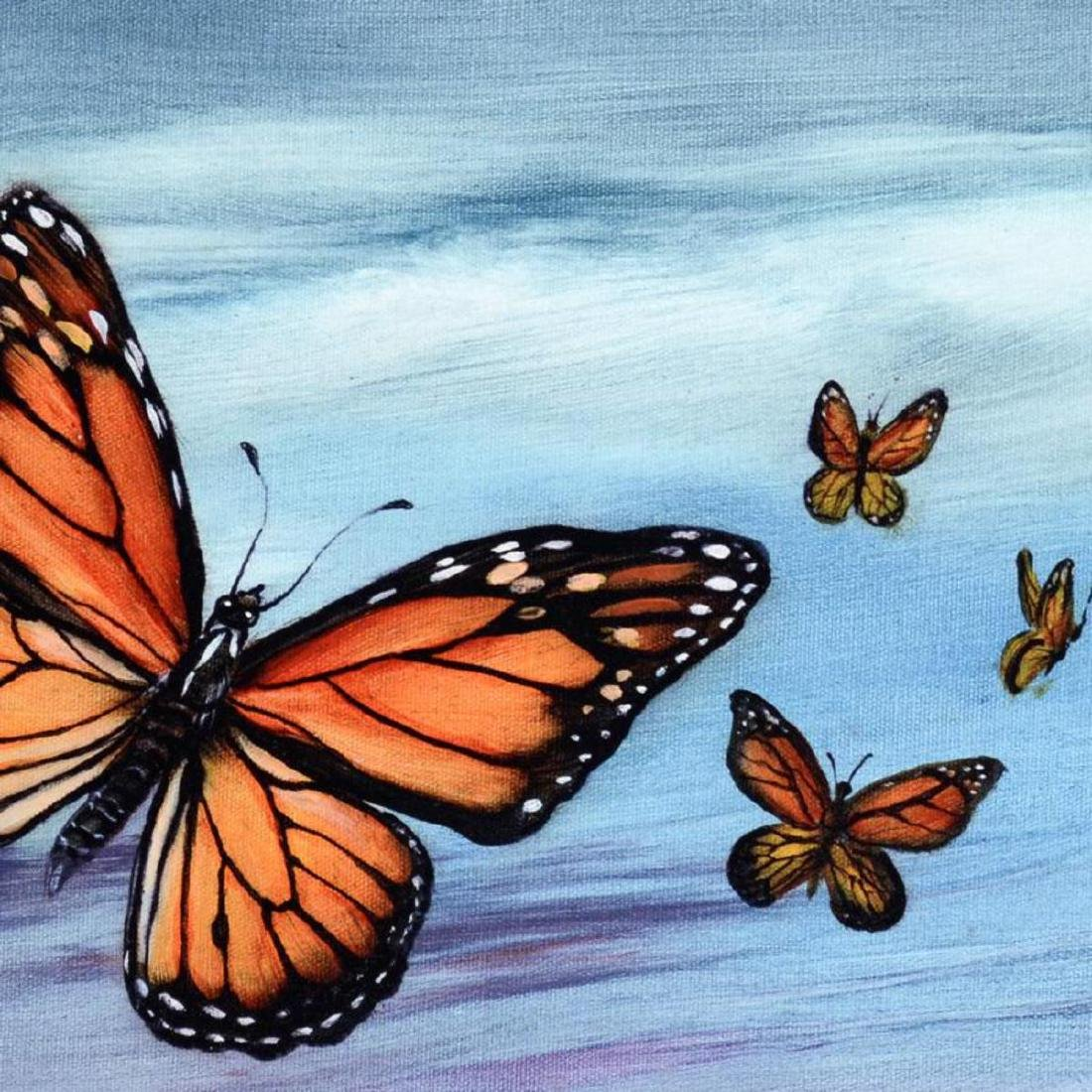 """Monarch Migration"" Limited Edition Giclee on Canvas by - 2"