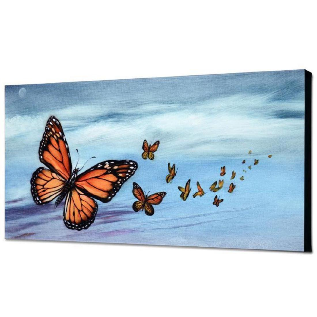 """Monarch Migration"" Limited Edition Giclee on Canvas by - 3"