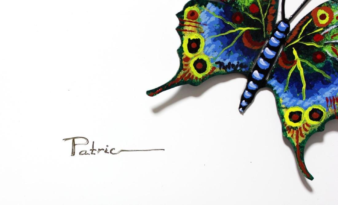 "Patricia Govezensky- Original 3D Metal Art ""Flag of - 6"