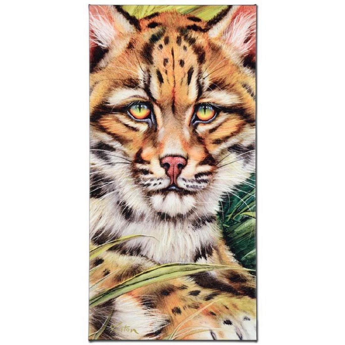 """Ocelot Eyes"" Limited Edition Giclee on Canvas by"