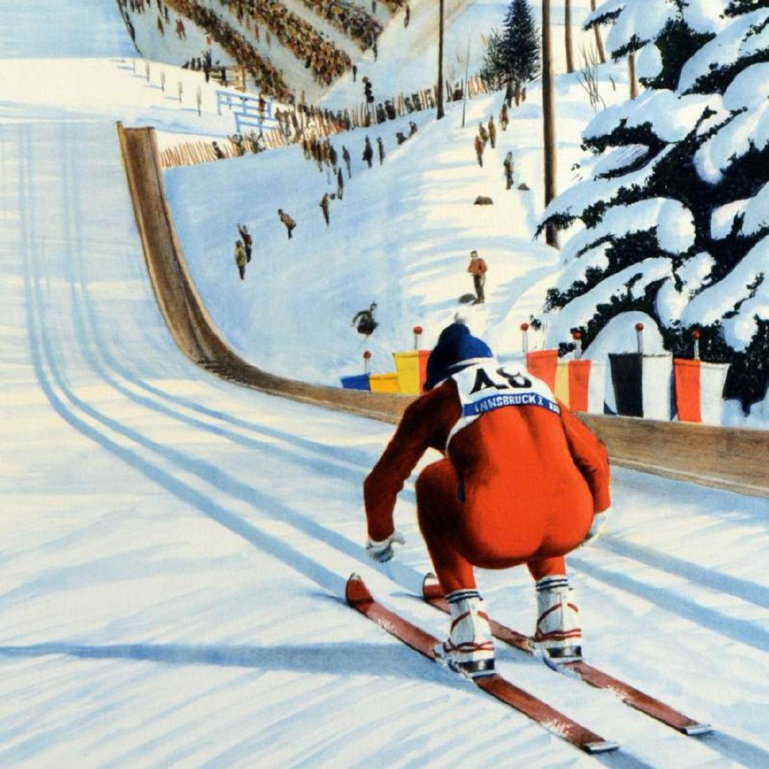 """William Nelson - """"90-Meter Ski Jump"""" Limited Edition - 2"""