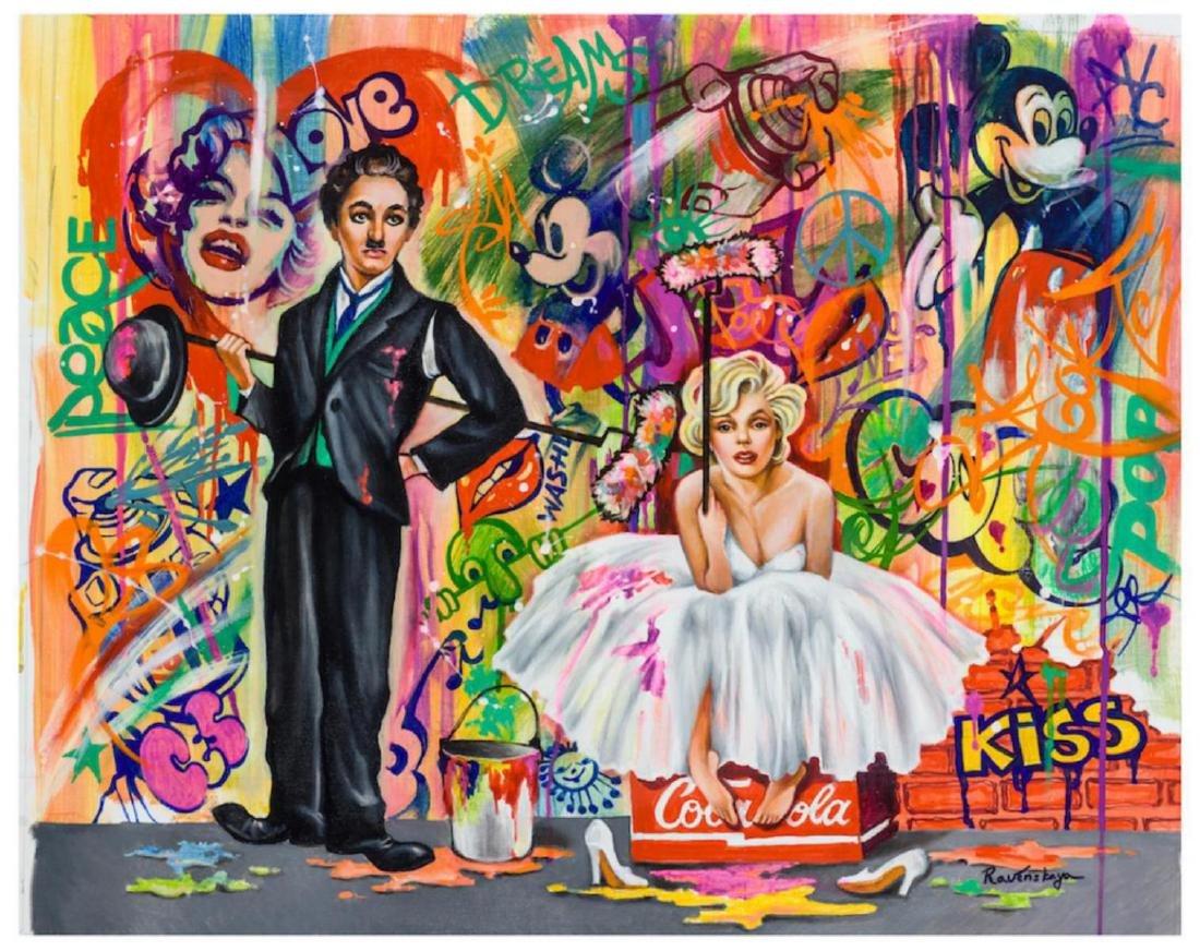 Nastya Rovenskaya Charlie and Marilyn Monroe HS/N XL