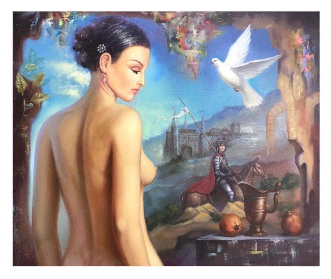 """Taras Sidan- Original Oil on Canvas """"Peace"""""""