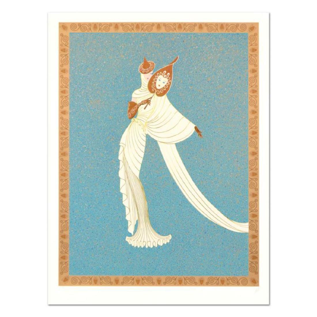 "Erte (1892-1990), ""Tanagra Turquoise"" Limited Edition"