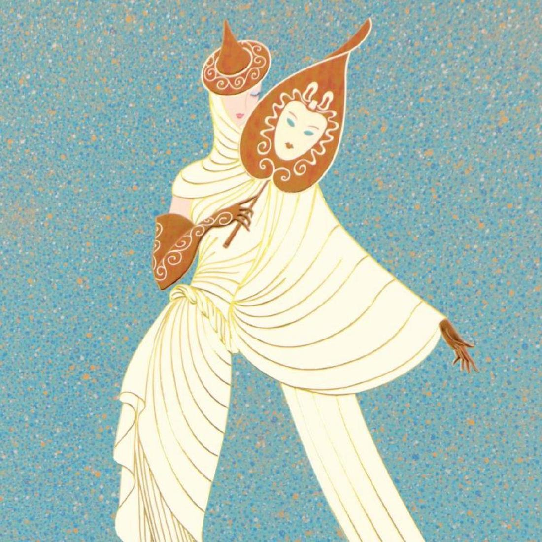 "Erte (1892-1990), ""Tanagra Turquoise"" Limited Edition - 2"