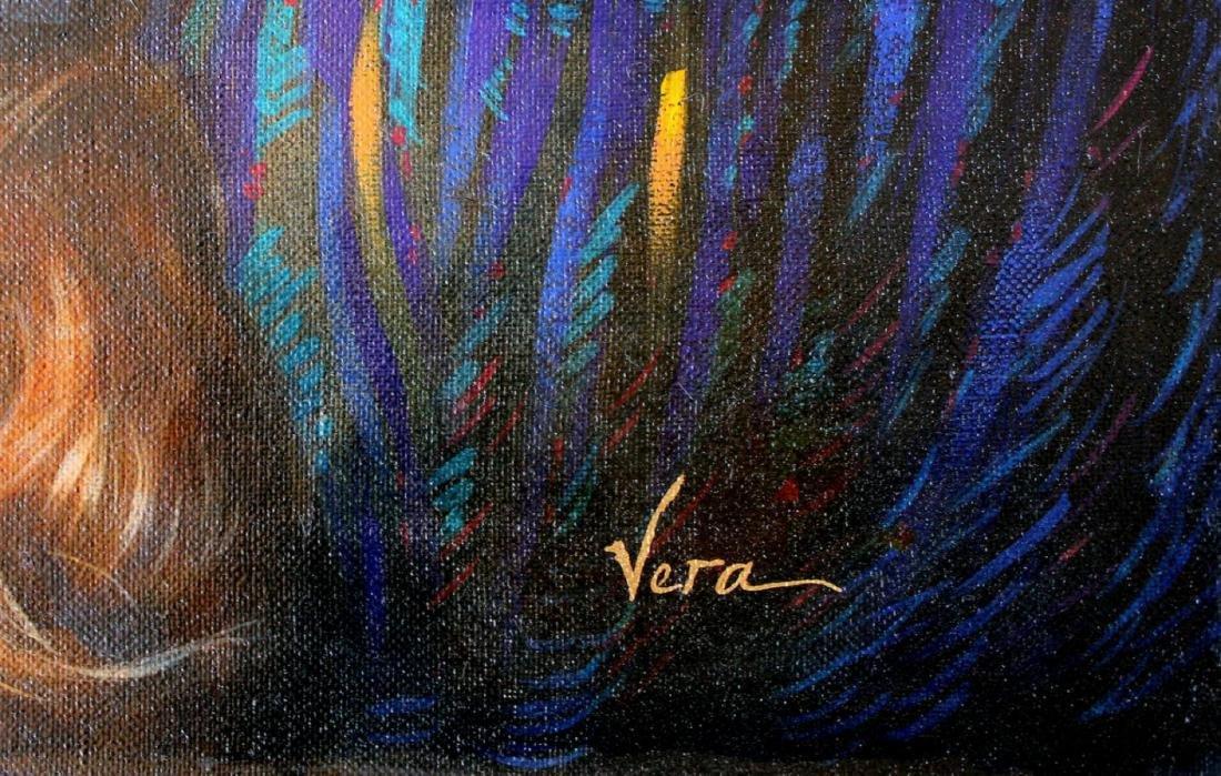 "Vera V. Goncharenko Original Oil on Canvas ""Romantic - 2"