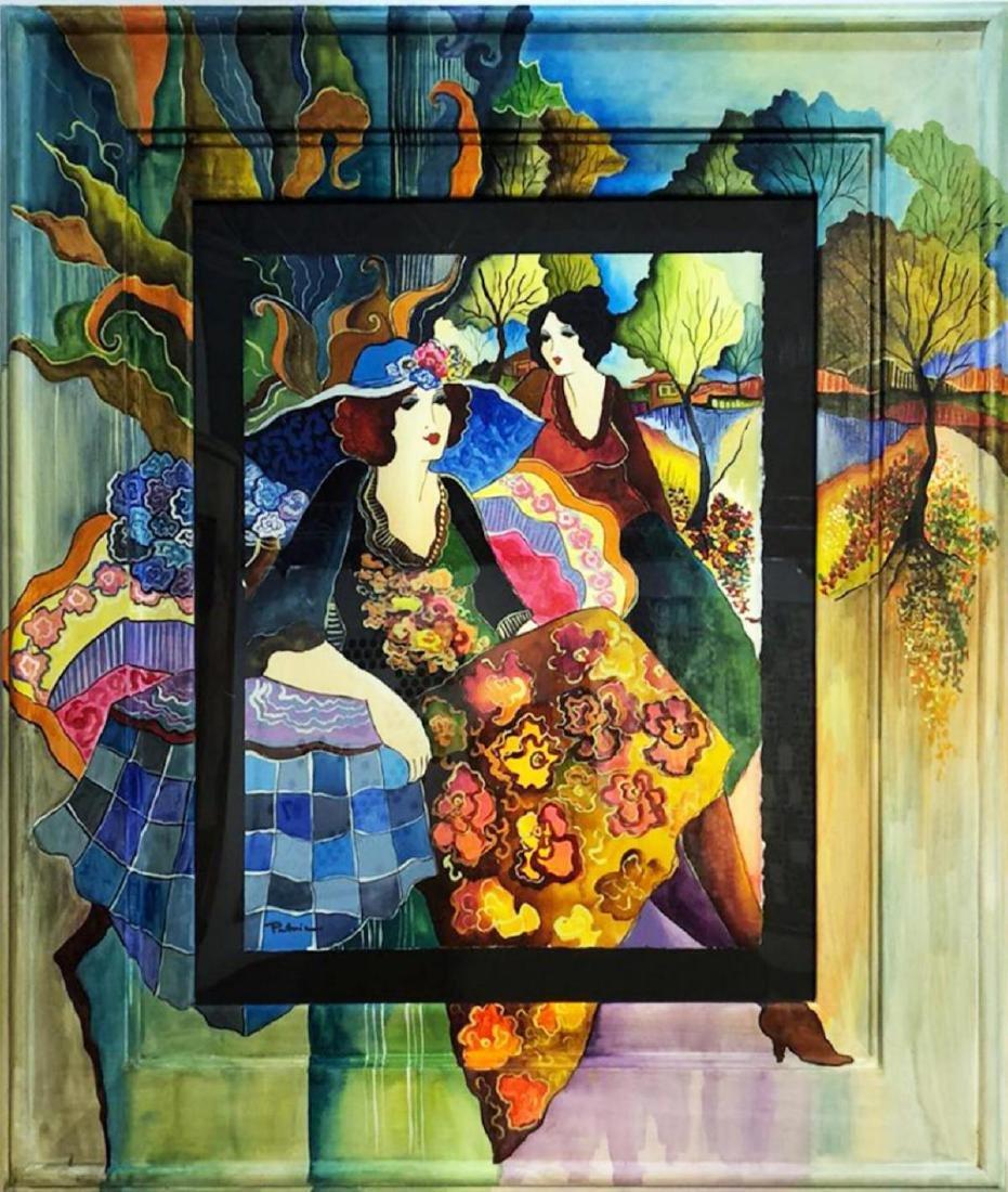 Patricia Govezensky Original Watercolor with