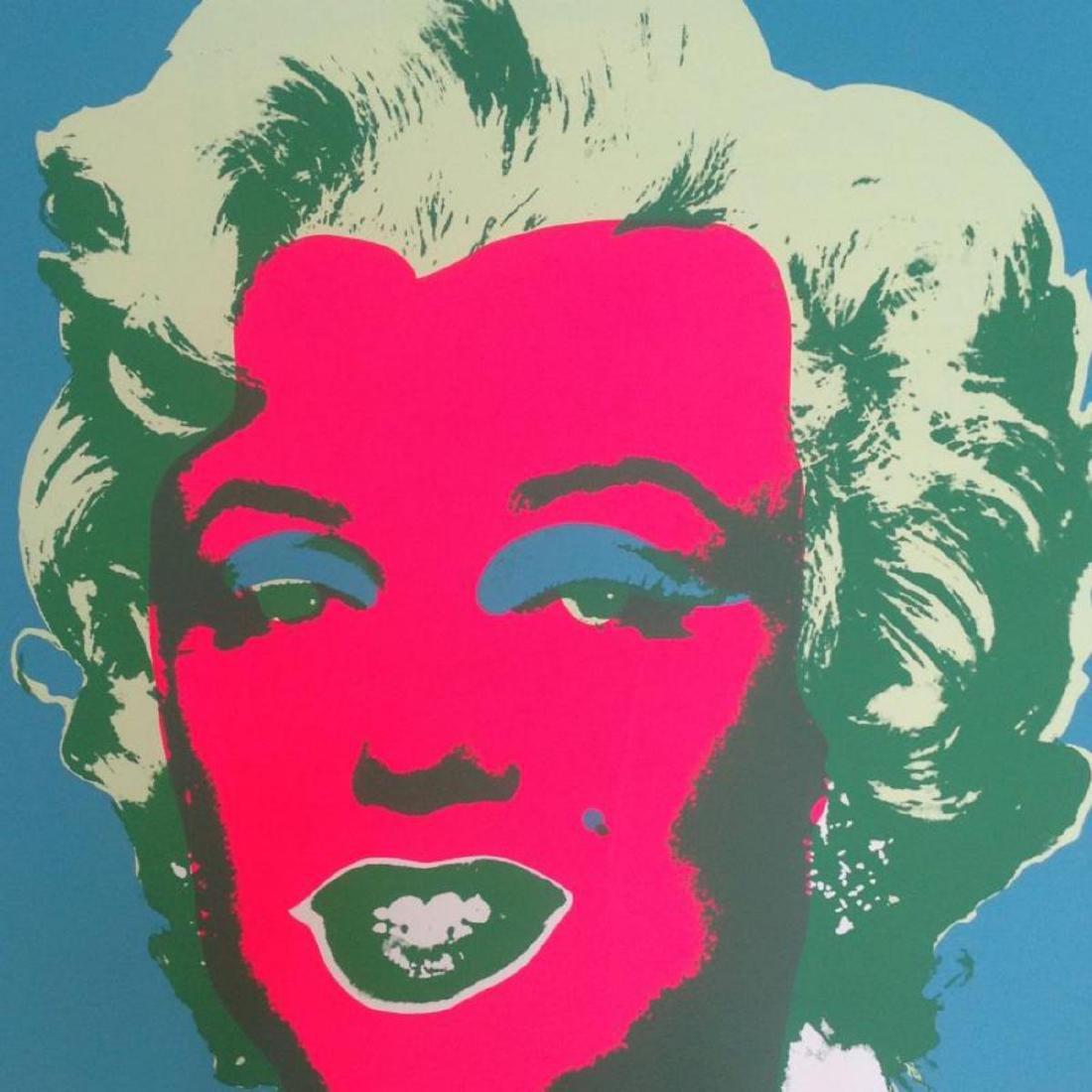 "Andy Warhol ""Marilyn 11.30"" Silk Screen Print from - 2"