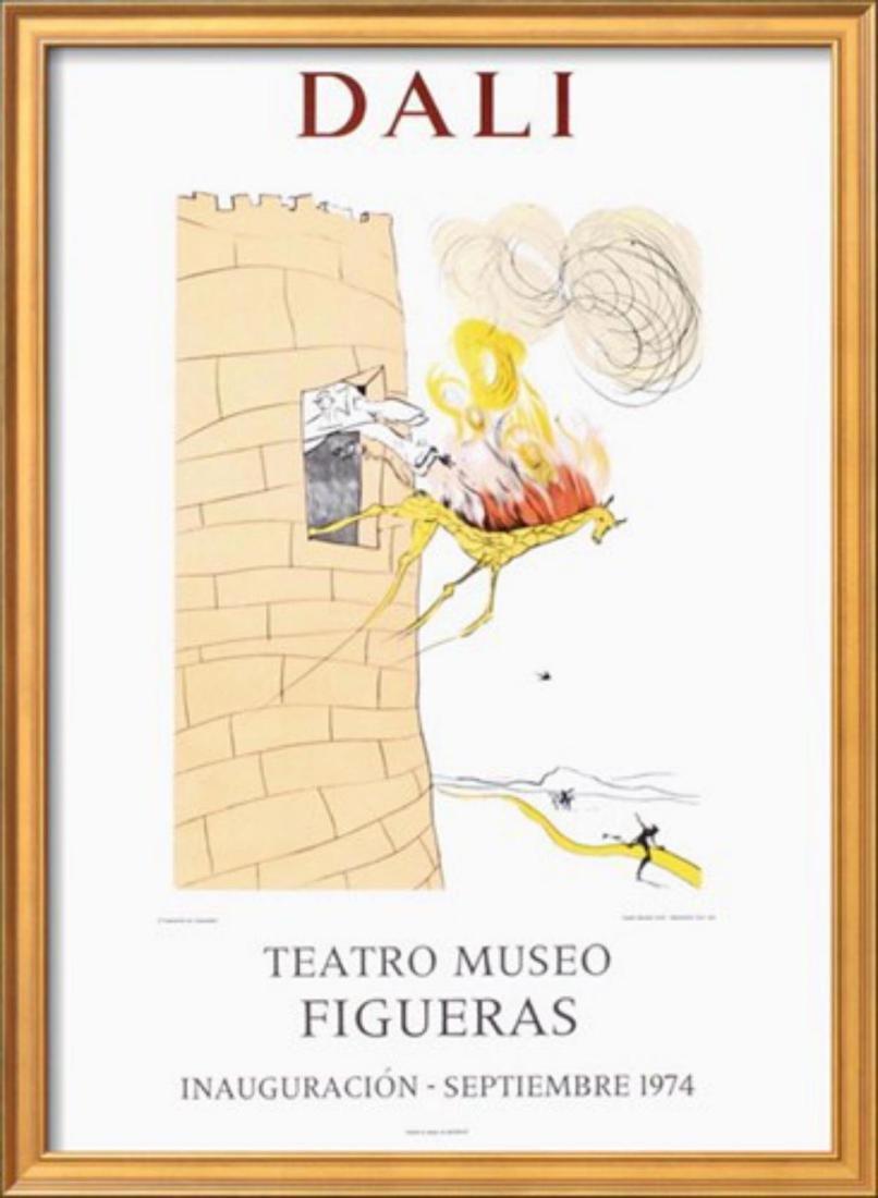 """Salvador Dalí """"Teatro Museo Figueras 7"""" Original"""