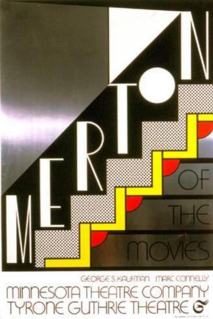 """Roy Lichtenstein """"Merton of the Movies """" Serigraph"""