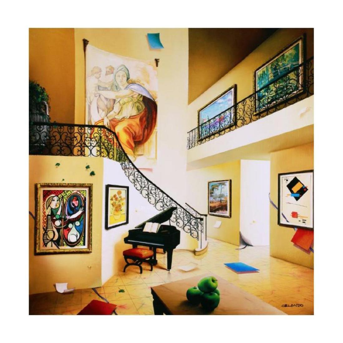 """Orlando Quevedo - """"Piano's Corner"""" Limited Edition"""