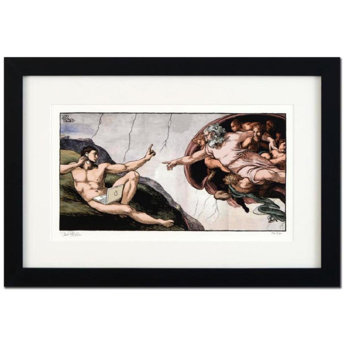 "Bizarro! ""Interruption of Adam"" is a Framed Limited"
