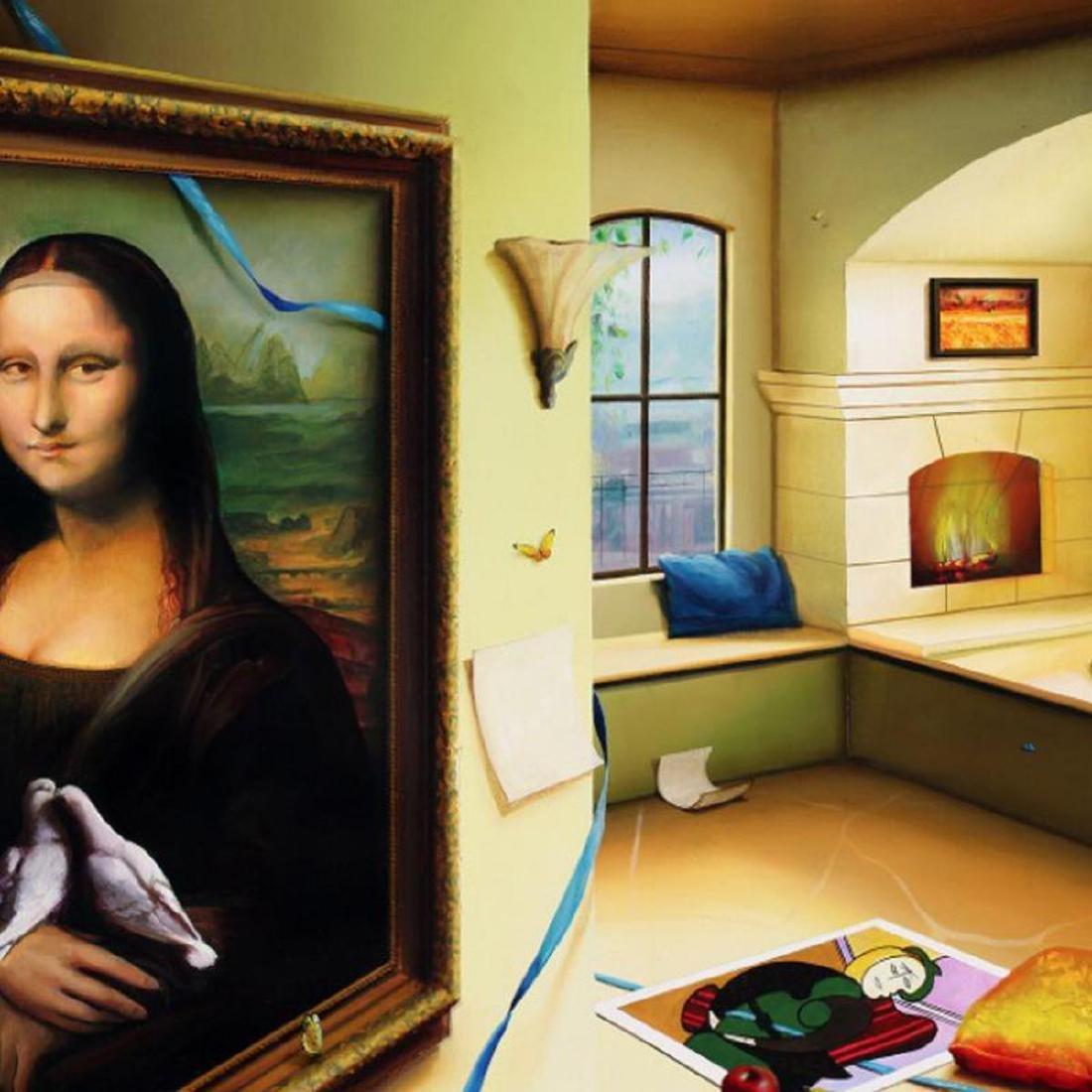 "Orlando Quevedo - ""Mona Lisa"" Limited Edition on - 2"