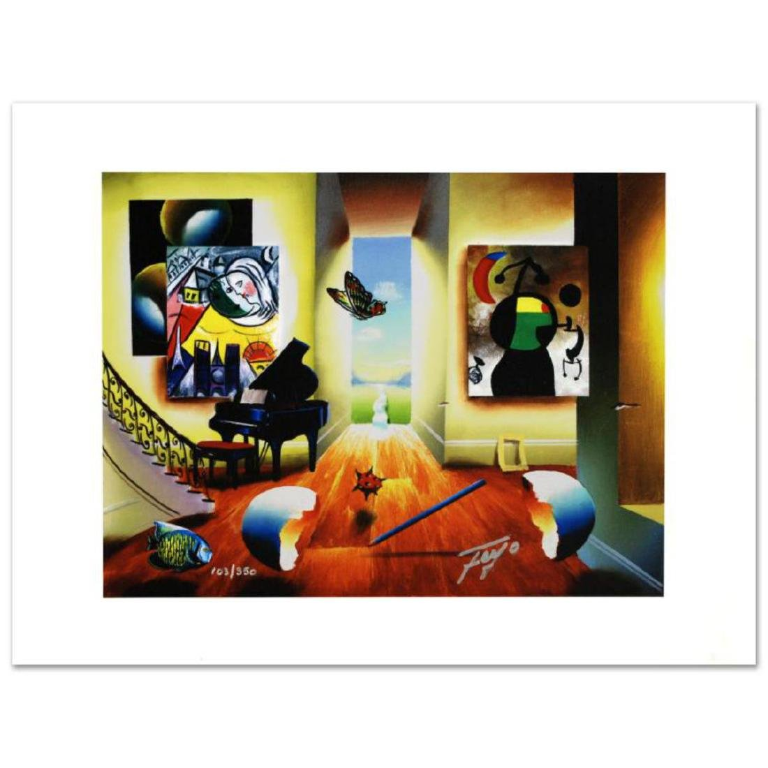 """Chagall's Recital"" Limited Edition Giclee on Canvas by"