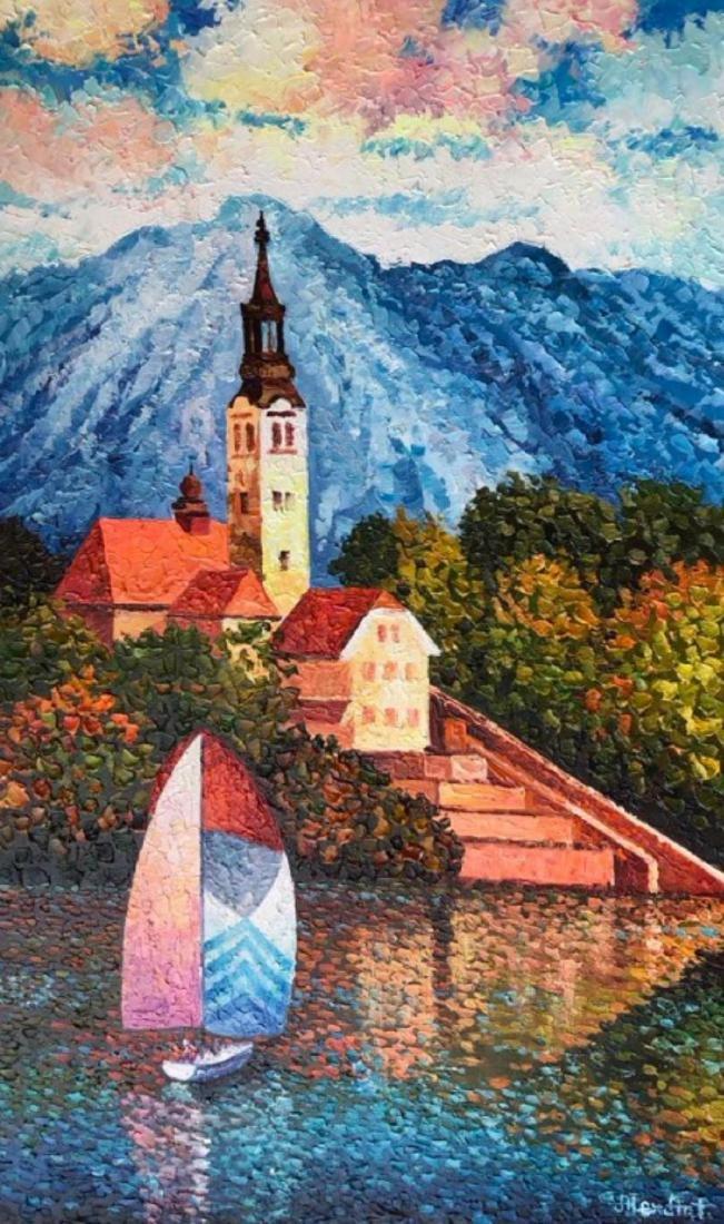 "Alexander Antanenka - ""Sailing in Switzerland"" Original"