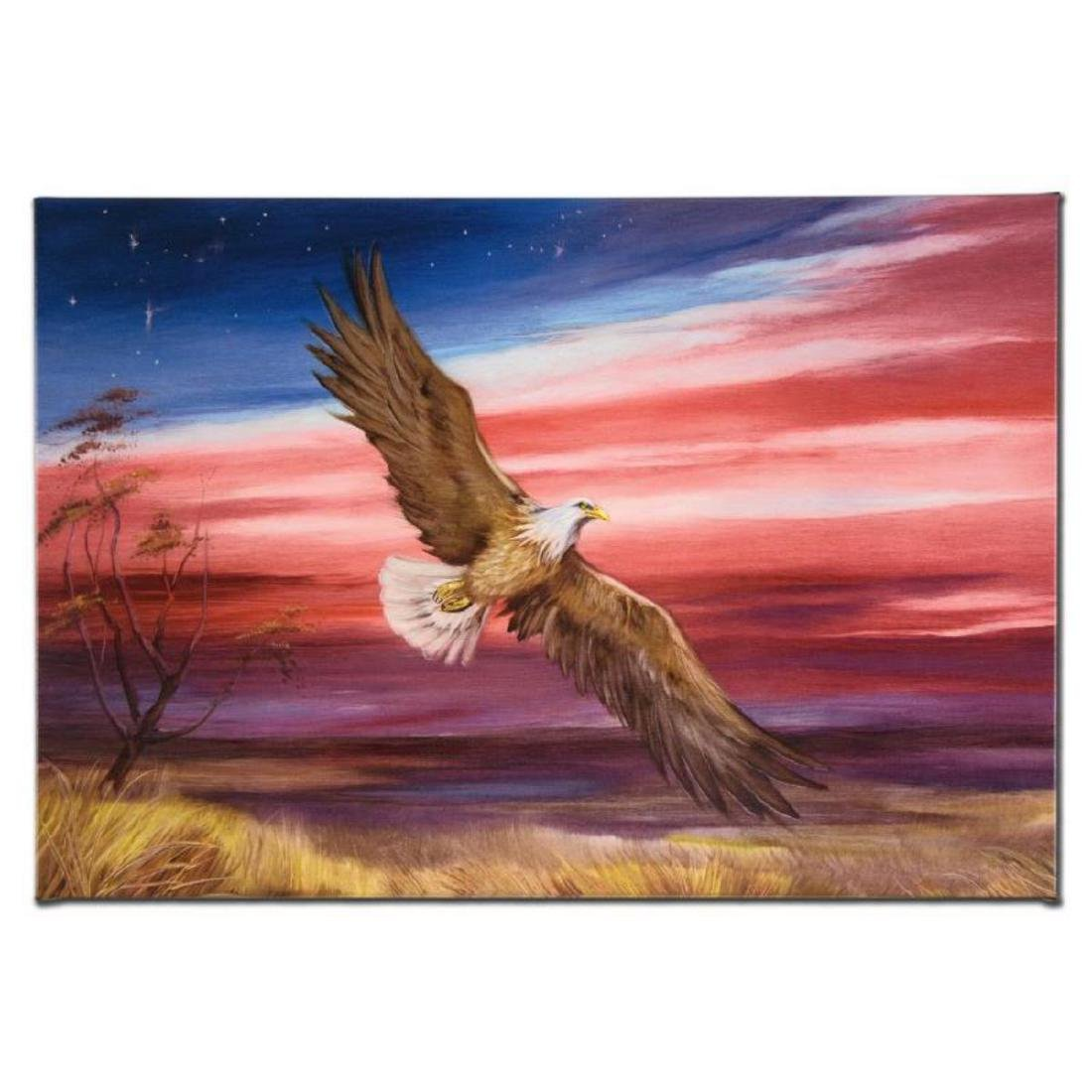 """""""Red White and Blue"""" Limited Edition Giclee on Gallery"""