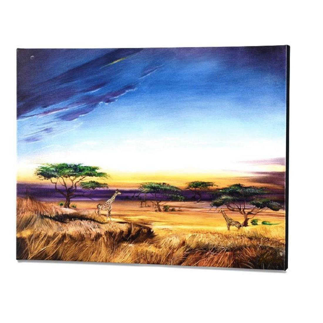 """Africa at Peace"" Limited Edition Giclee on Gallery - 3"