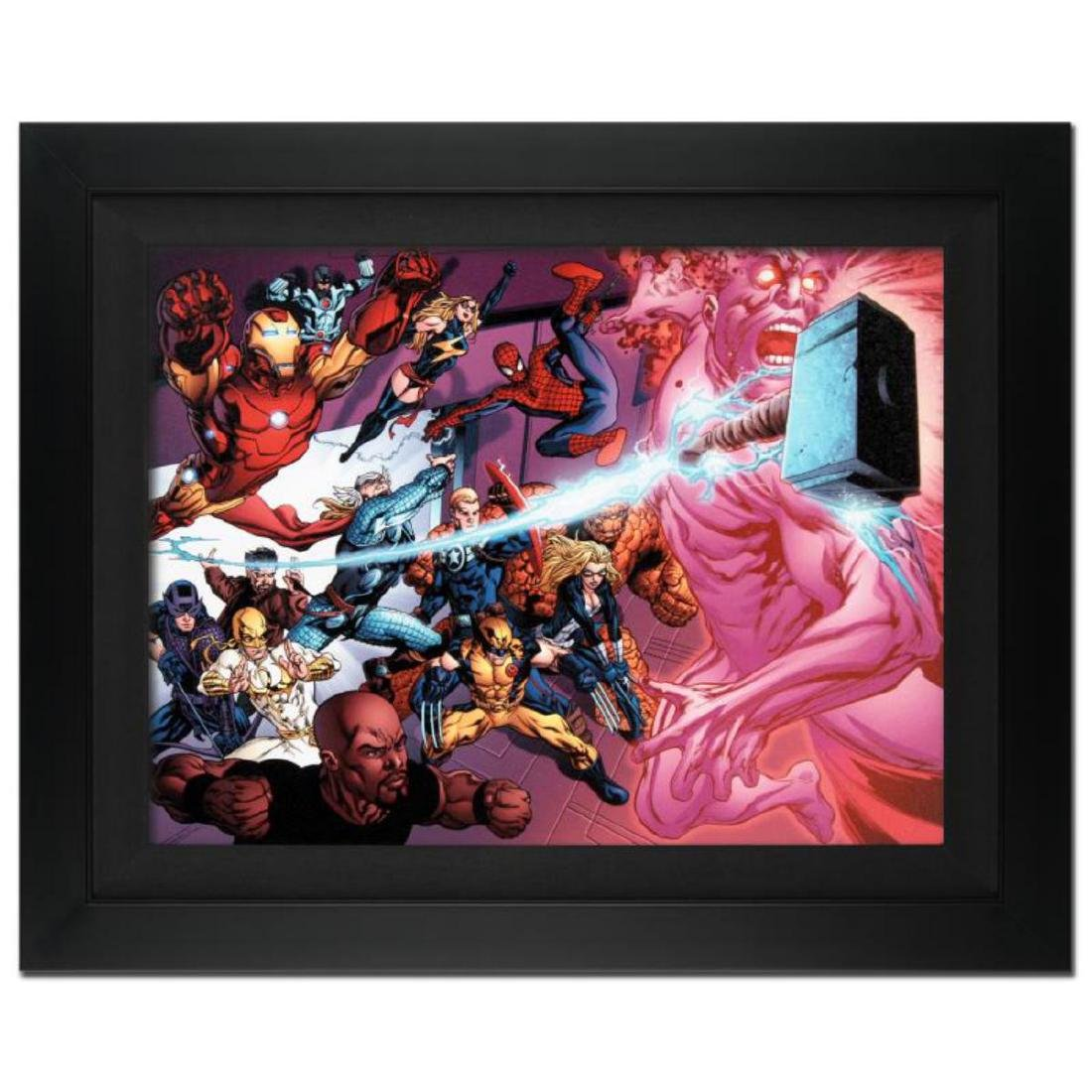 """Avengers Academy #11"" Extremely Limited Edition Giclee"