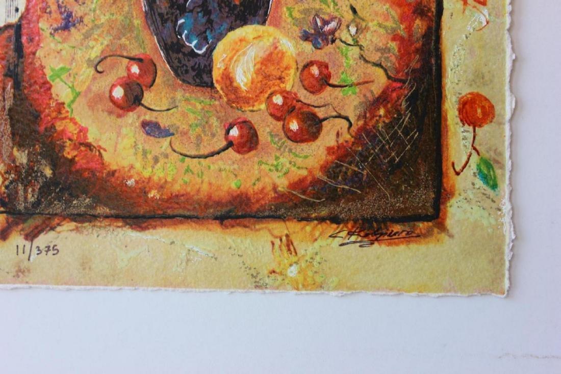 Sergey Kovrigo Silkscreen Serigraph Sunshine Roses - 2