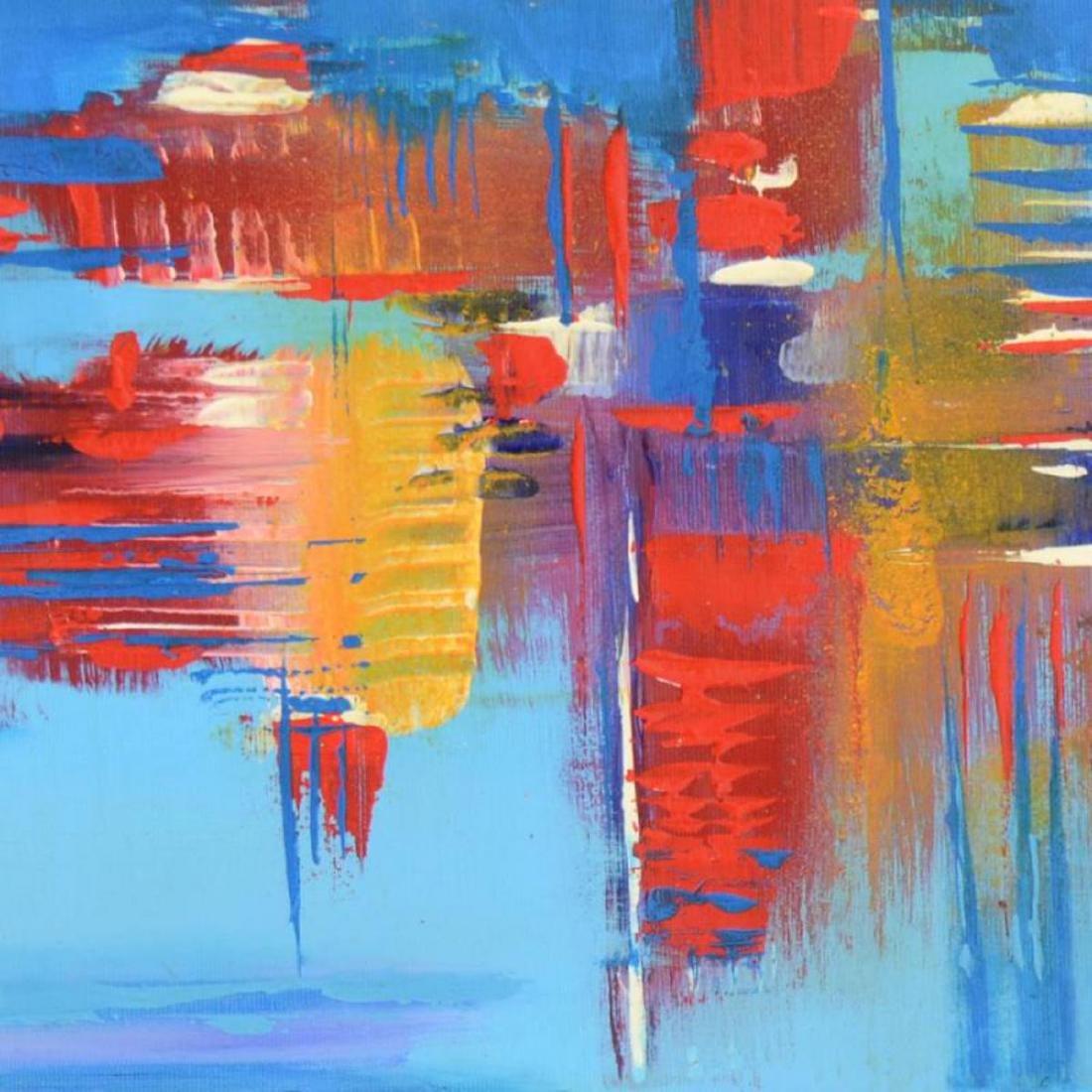 "Roberto Donatelli - ""Reflections"" Original Oil Painting - 2"