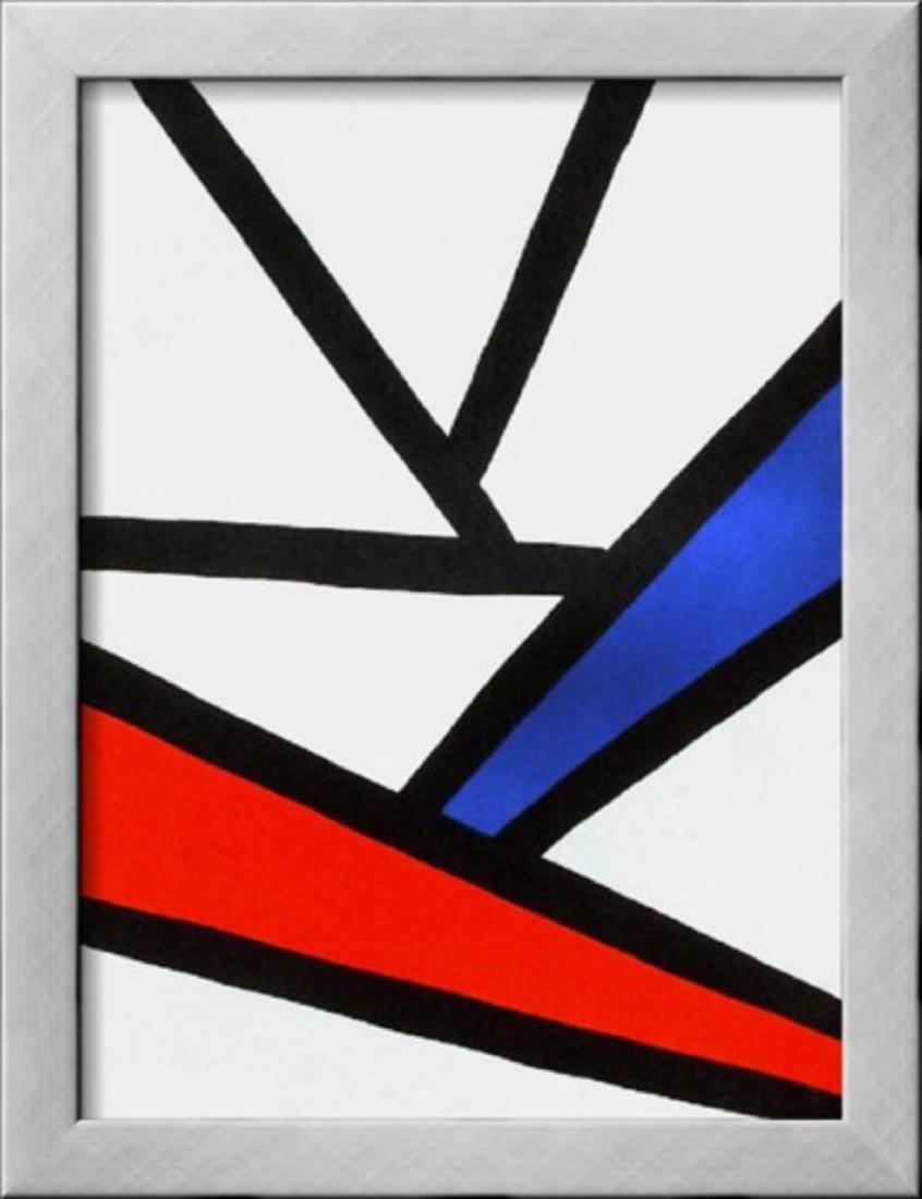 "Alexander Calder ""Derrier le Mirroir, no. 173:"