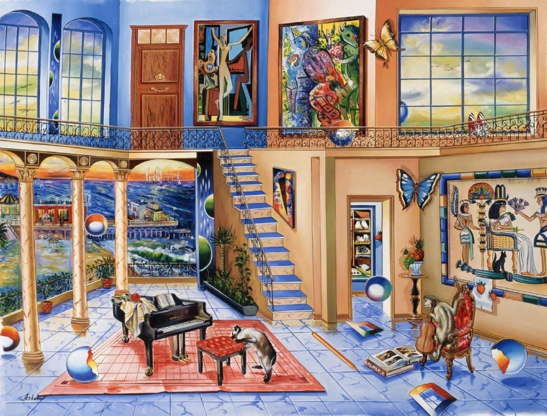 "Alexander Astahov- Original Giclee on canvas ""Old"