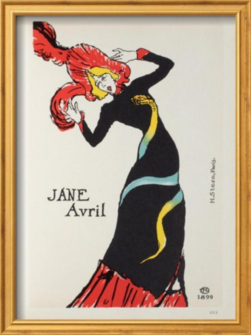 """Henri de Toulouse-Lautrec """"Jane Avril II"""""""