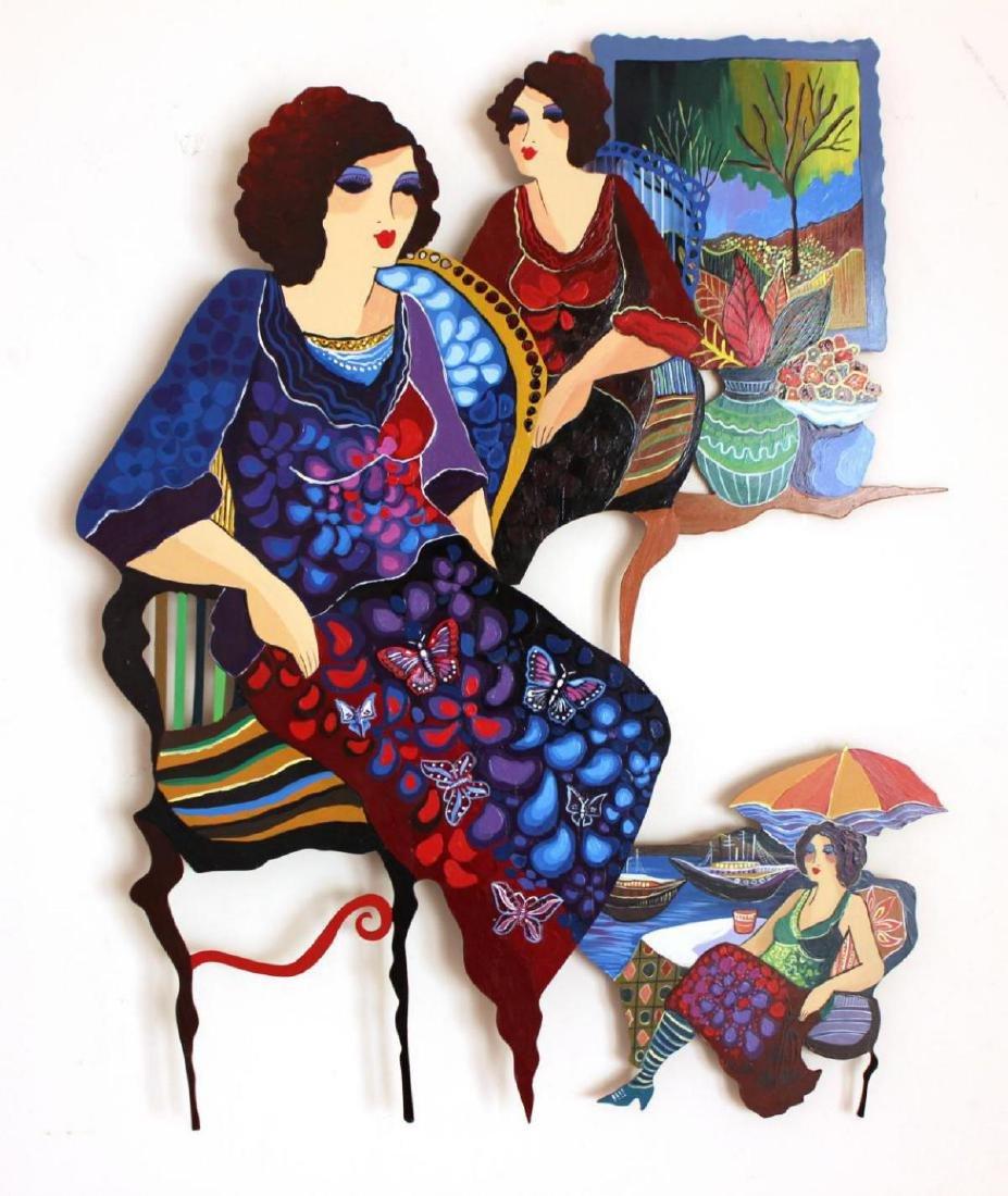Original Patricia Govezensky Wall Sculpture Cutout