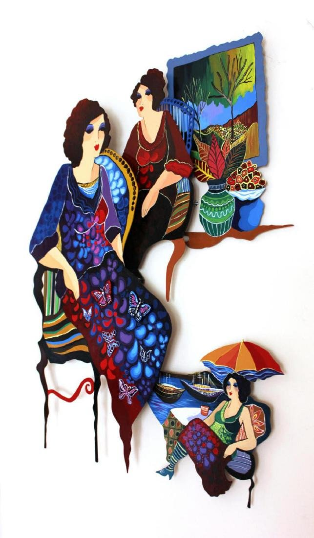 Original Patricia Govezensky Wall Sculpture Cutout - 2