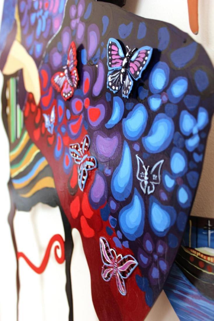 Original Patricia Govezensky Wall Sculpture Cutout - 5