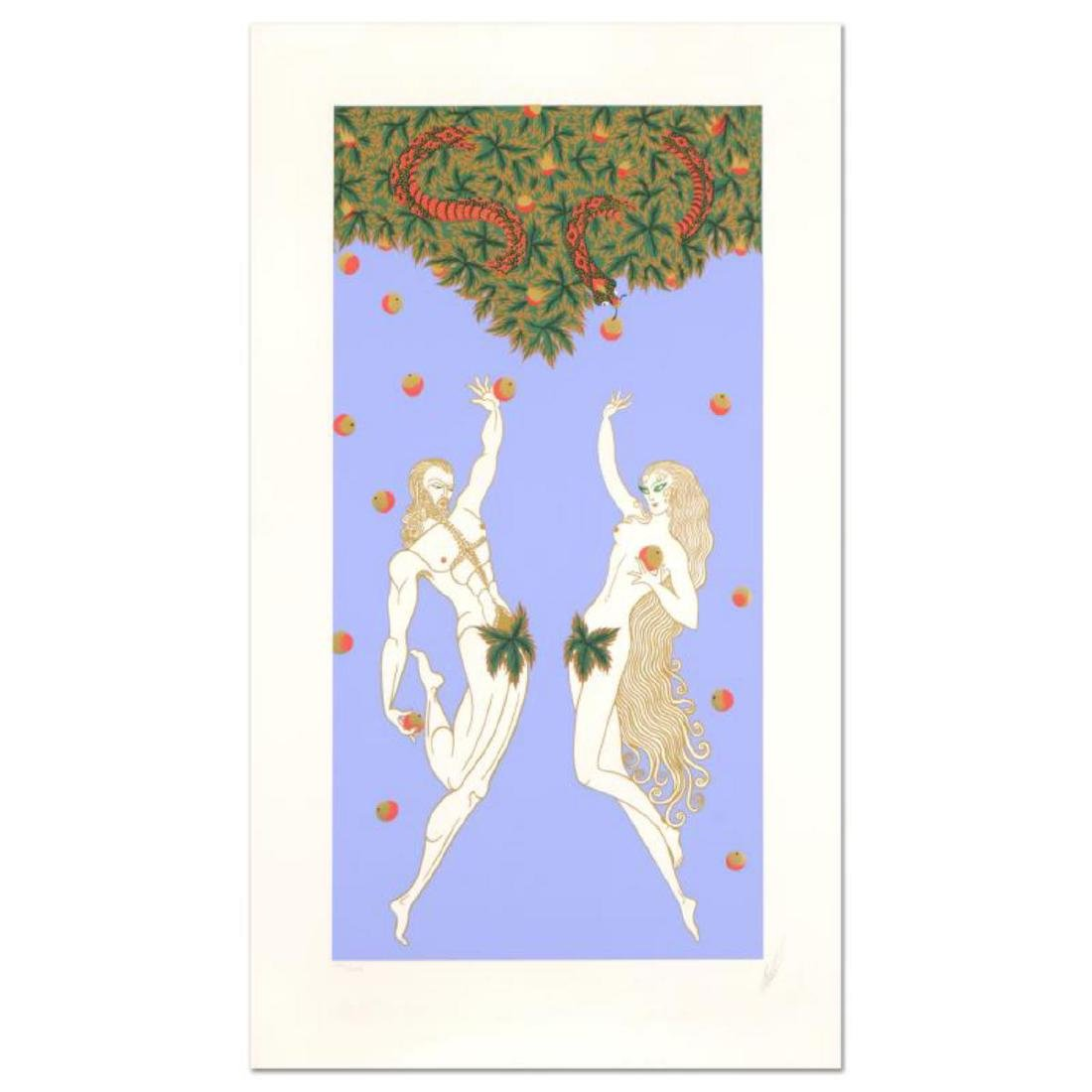 "Erte (1892-1990), ""Adam and Eve"" Limited Edition"