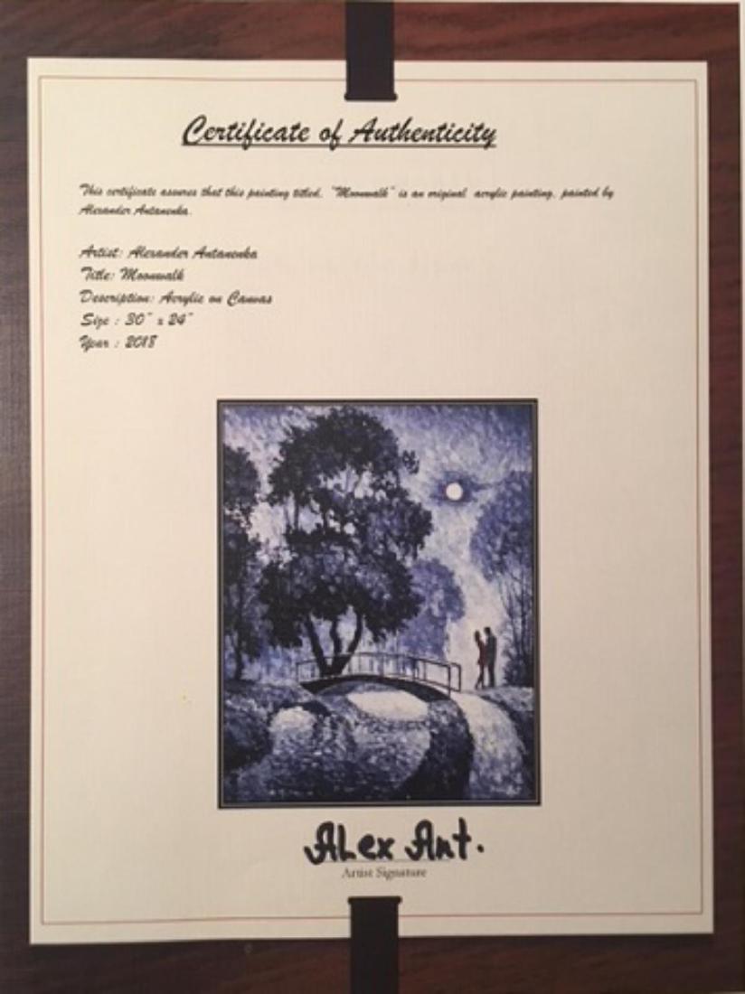 "Alexander Antanenka- ""Moonwalk"" Original Acrylic on - 2"